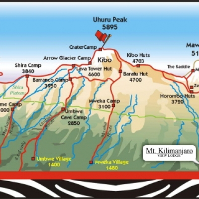 Mt Kilimanjaro On World Map.Mt Kilimanjaro View Lodge Mt Kilimanjaro